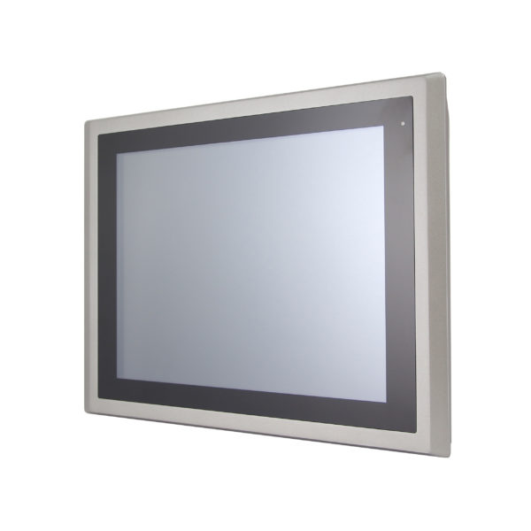 """Industrie Monitor: AADP 15"""" Flat Resistive Touch Monitor kapazitive touch IP65 Front"""