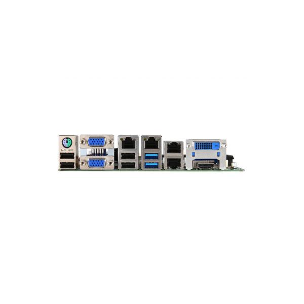 MS-98H1 Mini-ITX SKU1 4xLAN 10xCOM Haswell