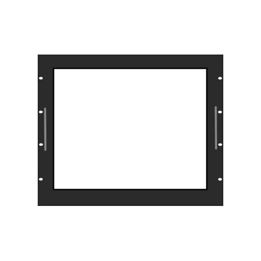 """17"""" auf 19"""" Panel PC Einbaurahmen Rackmount"""