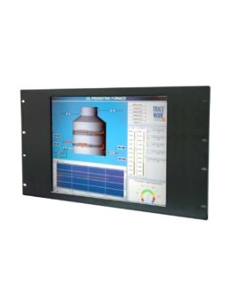 "Industrie Monitor: RPAD-615 15"" Rackmount Monitor IP65 Front"