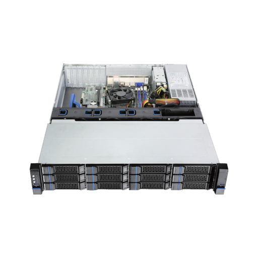 SX2612 - 2 HE with 12 times hot swap hdd
